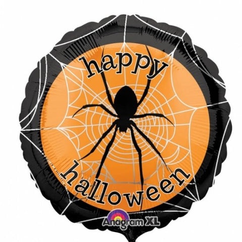 Spooky Spider Web - Foil Balloon