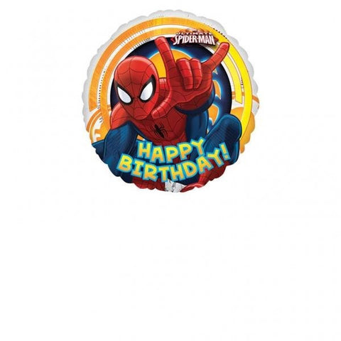 Foil Balloon - Ultimate Spider-Man 'Happy Birthday!'