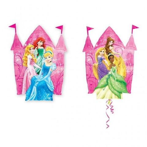 Disney Princess Castle - Super Shape Foil Balloon