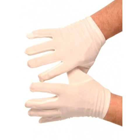 Mens White Gloves