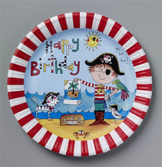 8 Pirate Paper Plates
