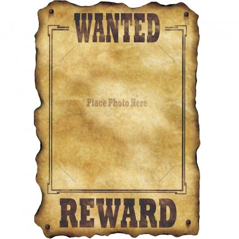Wild West - Wanted Poster