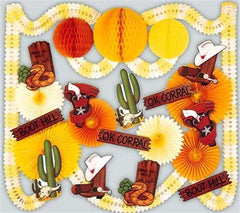 Wild West - Decorating Kit