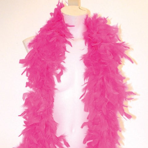 Cerise Feather Boa