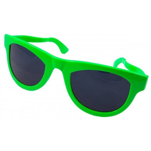 Party Glasses - Neon Green
