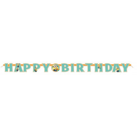 Despicable Me 2 - Happy Birthday Letter Banner