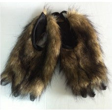 Animal Claws (Feet Covers) Brown