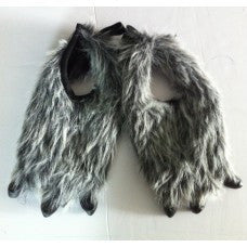 Animal Claws (Feet Covers) Grey