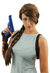 Brown Plait Wig