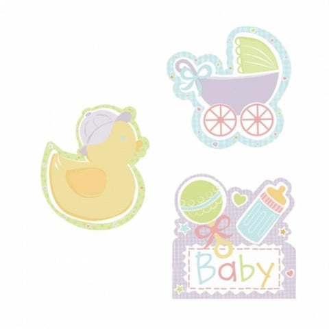 Baby's Nursery Cutout Dangly