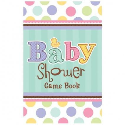 Baby Shower - Party Game Book