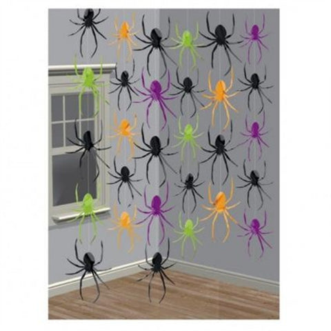 Halloween Decoration - String of Spiders