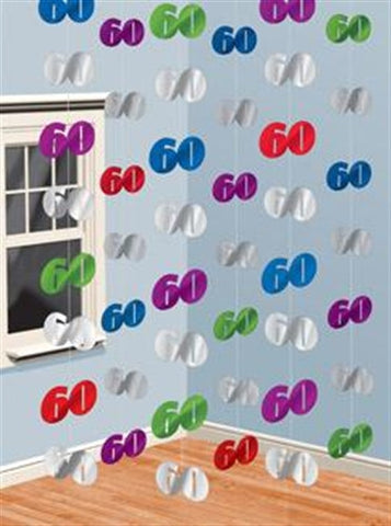 "Foil String Decoration ""60"""