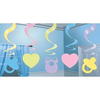 Baby Shower - Swirl Decorations