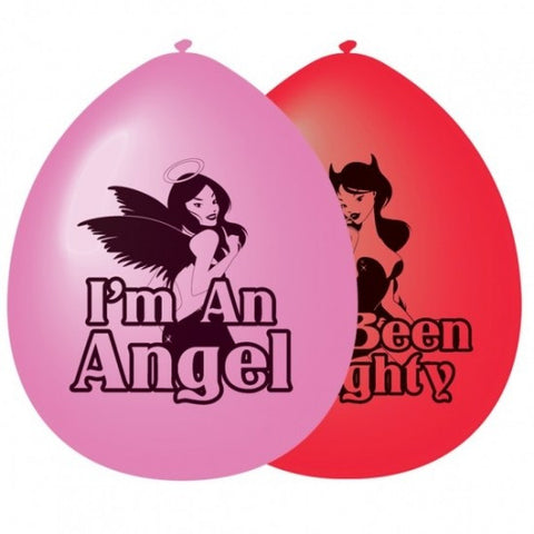 Good Girl/Bad Girl Balloons