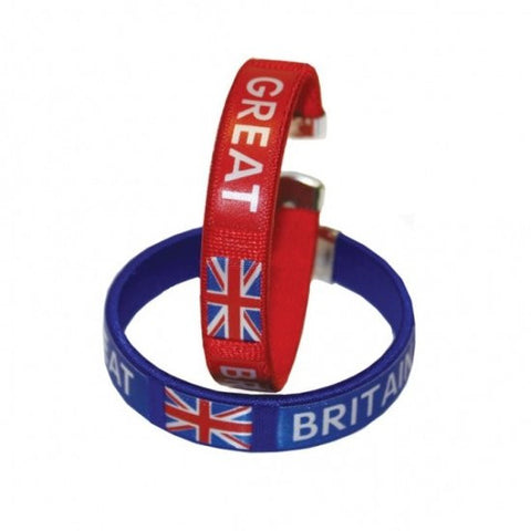 Great Britain - Fabric Bracelet