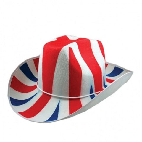 Great Britain - Fabric Cowboy Hat