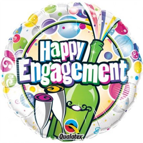 Happy Engagement - Foil Balloon