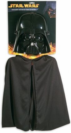 Darth Vader Cape & Mask (Childs)