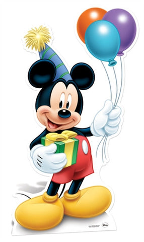 Life-size Cardboard Cutout - Mickey Mouse 'Party'