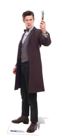 Life-size Cardboard Cutout - The 11th Doctor with Screwdriver