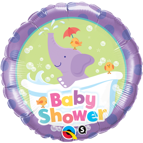 Foil Balloon - Baby Shower Elephant