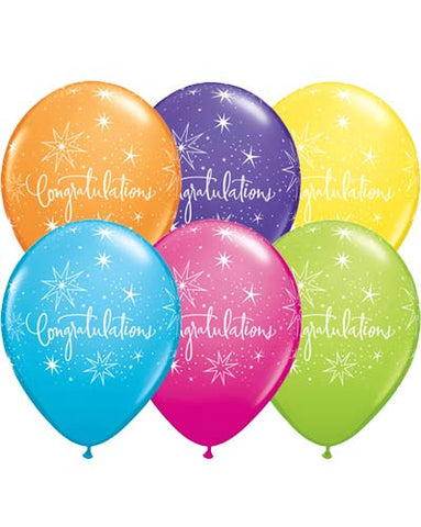Congratulations Assorted Balloons
