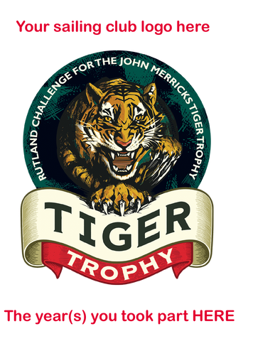 This customizable range of garments is being launched to raise as much money as possible , with all the profits going to the JMST. In normal years, the Rutland Challenge for the John Merricks Tiger Trophy would raise around £5000 to give to the trust. THIS IS THE TARGET. (It is now postponed to the 28th and 29th August.)