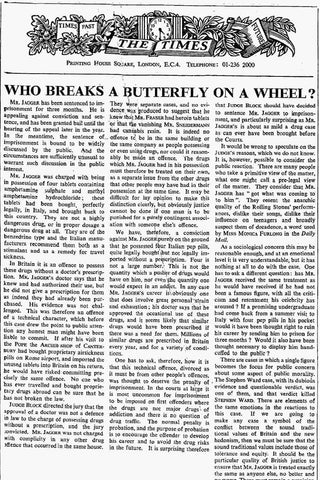 """""""Who breaks a butterfly upon a wheel?"""" is a quotation from Alexander Pope's """"Epistle to Dr Arbuthnot"""" of January 1735. It alludes to """"breaking on the wheel"""", a form of torture in which victims had their long bones broken by an iron bar while tied to a Catherine wheel."""