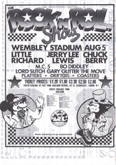 1972 Wembley Rock n Roll Show poster
