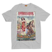 Load image into Gallery viewer, GAS retro T Shirt design, Classic Film Poster Princesse des iles FN05