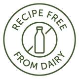Recipes free from dairy