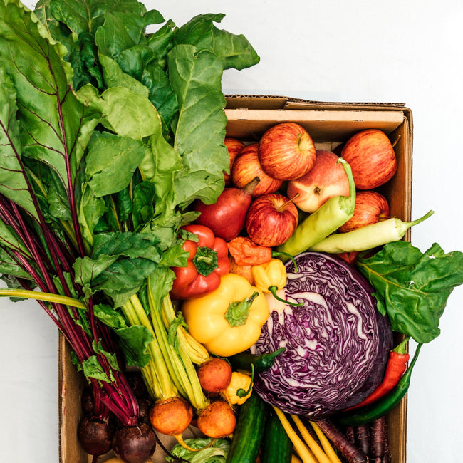 K & R Produce's Seasonal Fruit & Vegetable Box