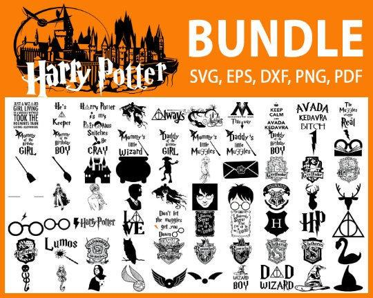 100+ Harry Potter Svg Bundle, Hogwarts Svg, Files For Cricut Svg, Png, Dxf, Eps, Jpg