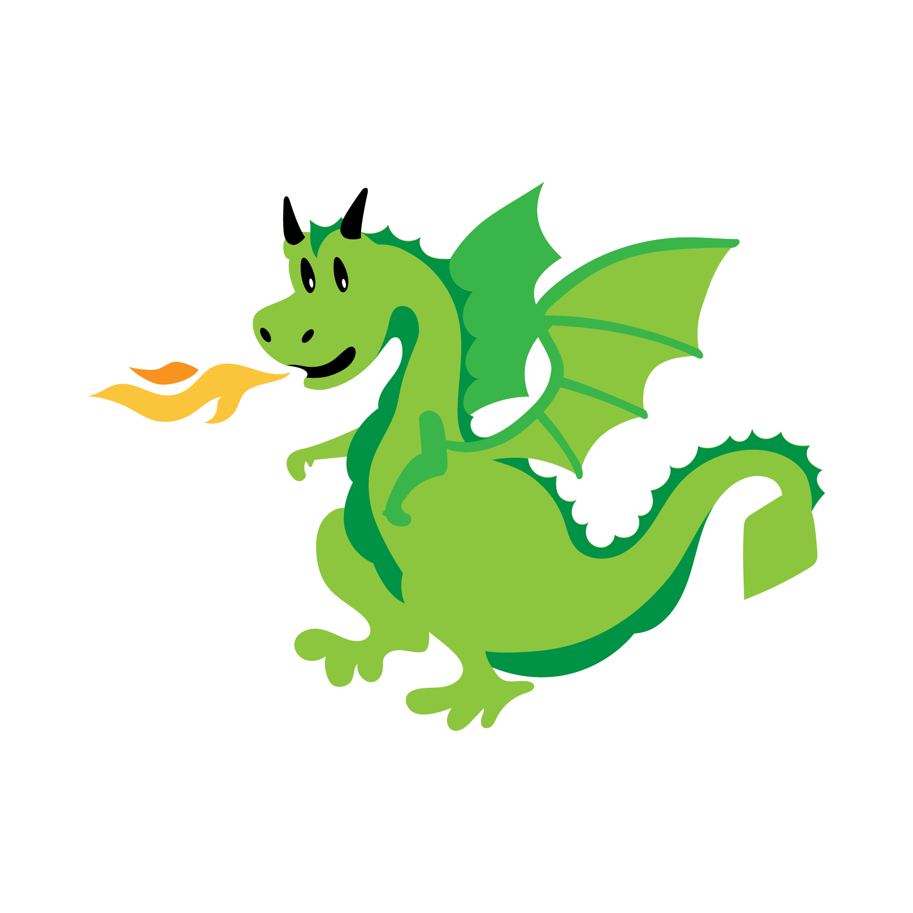 Dragon SVG Cut File