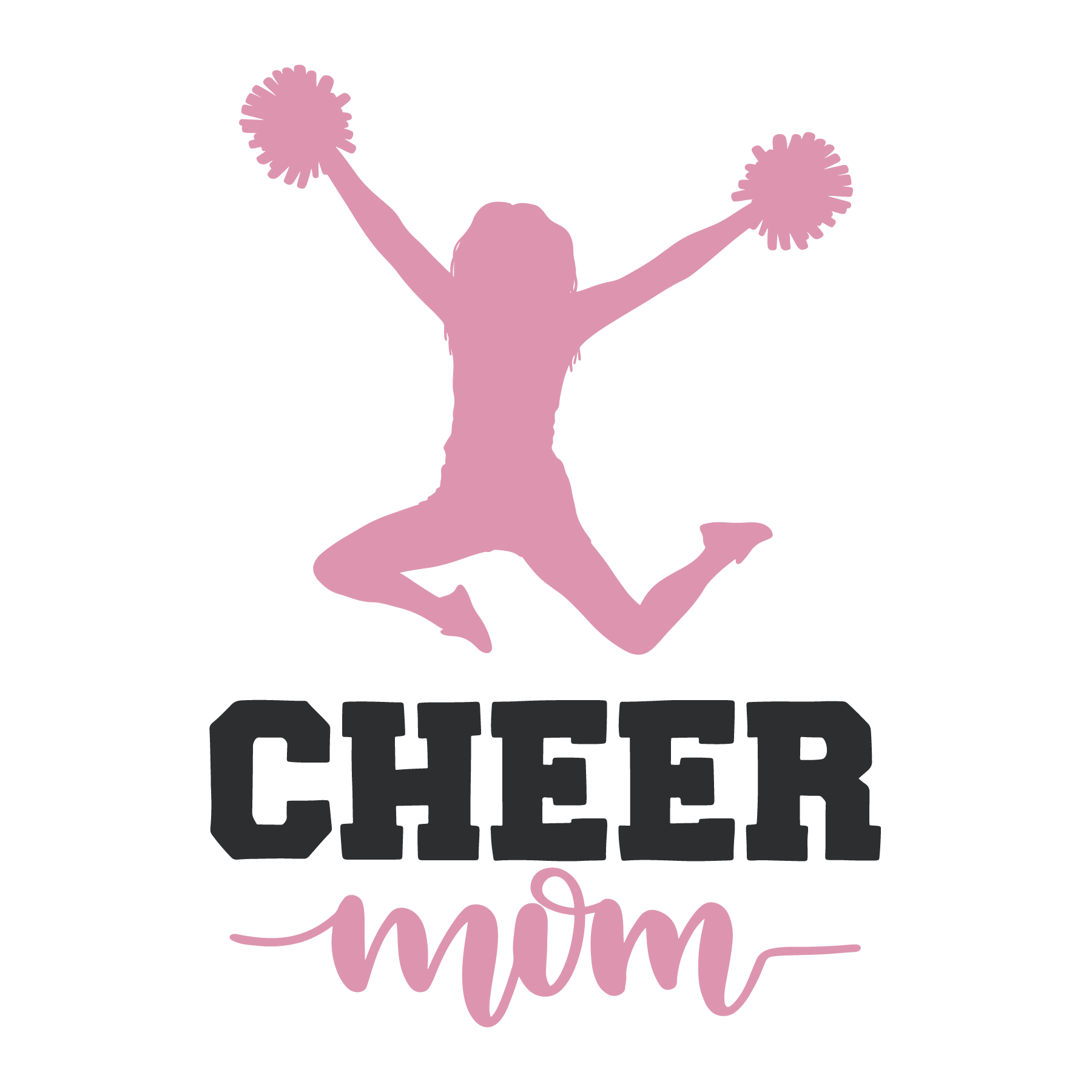 Cheer Mom SVG Cut File