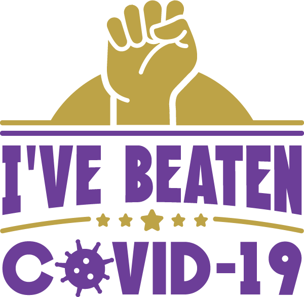 I've Beaten COVID-19 SVG Cut File
