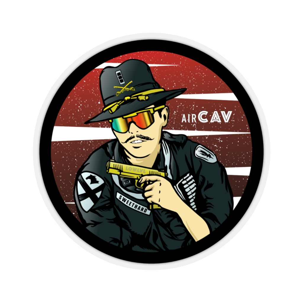 Mr. Sweethand™ Air Cavalry Zap (Sticker)