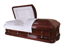 Load image into Gallery viewer, Royal Grace Custom - Solid Mahogany Casket - Lone Star Caskets