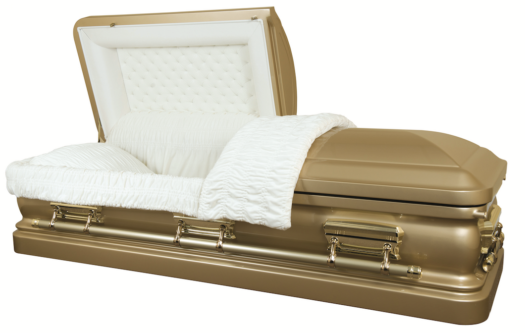 Golden Tribute - 18 Gauge Casket - Lone Star Caskets