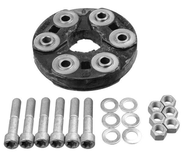 Mercedes-Benz Drive Shaft Universal Joint Flex Disc Guibo Kit