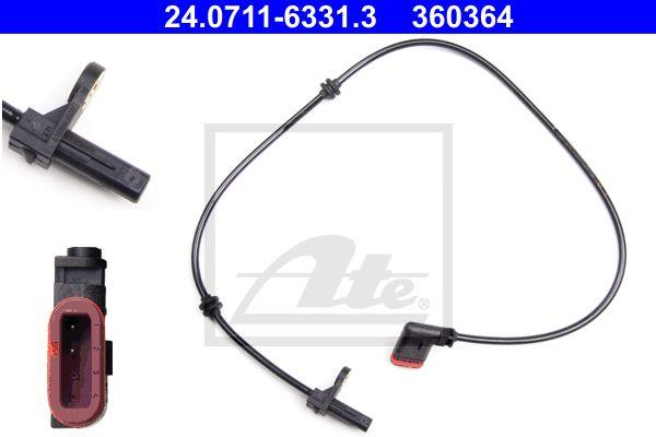 Genuine Ate Mercedes-Benz ABS Wheel Speed Sensor Front