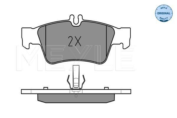 Mercedes-Benz Brake Pad Set Rear