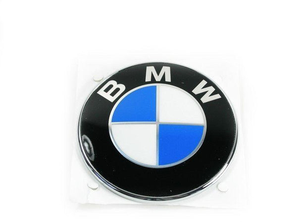 Genuine BMW Boot Trunk Side Grille Badge Emblem