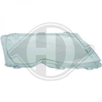 BMW Headlight Cover Lens and Rubber Gasket