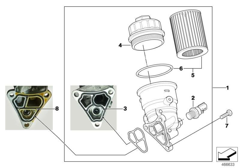 Genuine MINI Oil Filter Housing Gasket