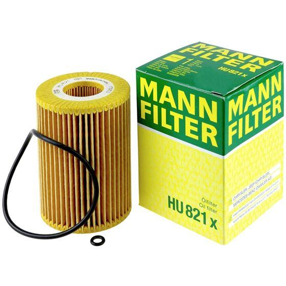 Genuine Mann Mercedes-Benz Engine Oil Filter and Seal Kit