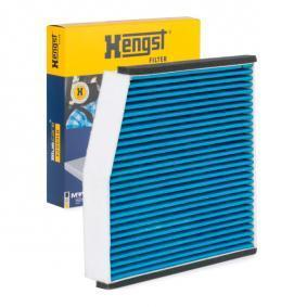 Genuine Hengst Mercedes-Benz Cabin Interior Air Filter with Antibacterial Effect