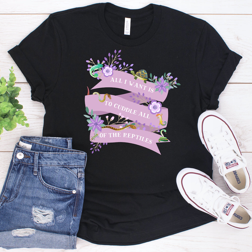 Reptile Shirt, Great Reptile Lover Gift For Women and Men, Cute Reptile Graphic, Reptile Top