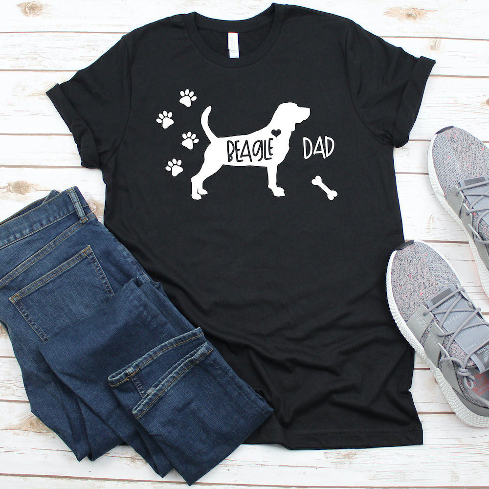 Funny Beagle Shirt, Beagle Dad, Beagle Lover Gift, Beagle T-shirt, Beagle Top, Cute Beagle Graphic